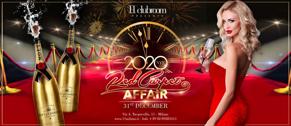 "dec 31st – 11clubroom's new year's eve 2020: ""red carpet affair ""!"